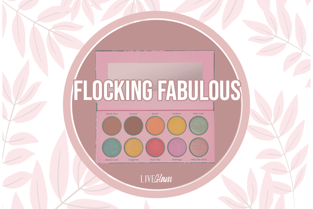 LiveGlam Flocking Fabulous Eyeshadow Palette Ingredients List