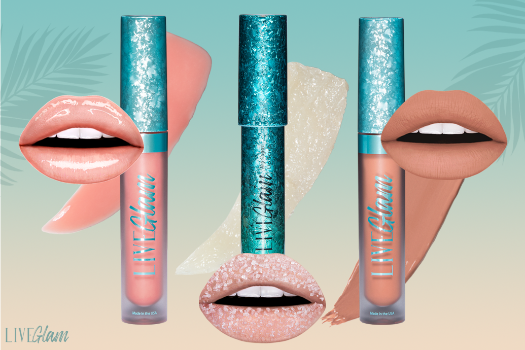 LiveGlam Forever In Fiji lippie collection