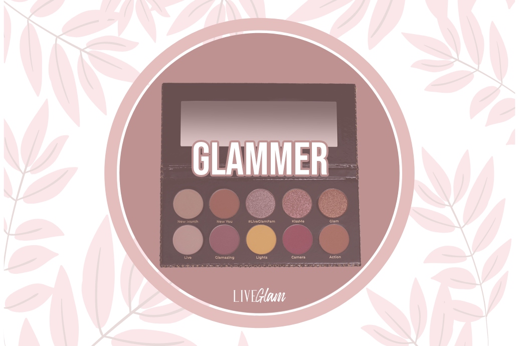 LiveGlam Glammer Eyeshadow Palette Ingredients List