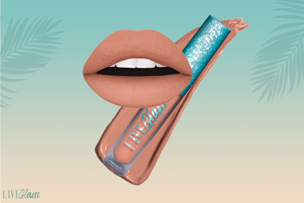 LiveGlam Island Thingz lippie shade march 2021 collection