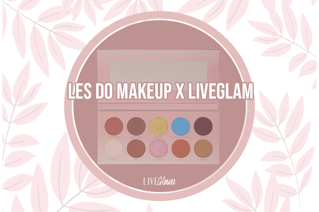 LiveGlam Les Do Makeup Eyeshadow Palette Ingredients List