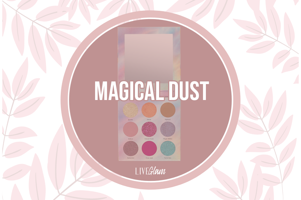 LiveGlam Magical Dust Eyeshadow Palette Ingredient List