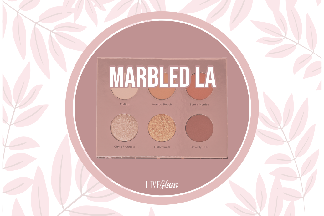 LiveGlam Marbled LA Eyeshadow Palette Ingredients List