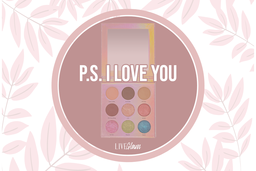 LiveGlam PS I Love You Eyeshadow Palette Ingredients List
