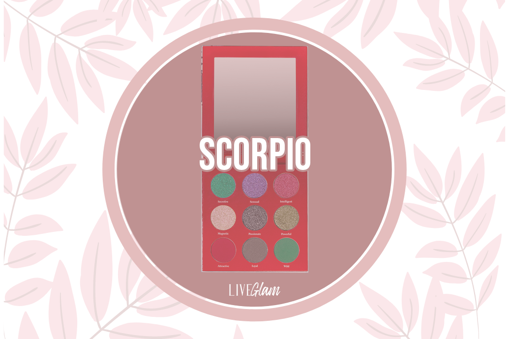 LiveGlam Scorpio Eyeshadow Palette Ingredients List