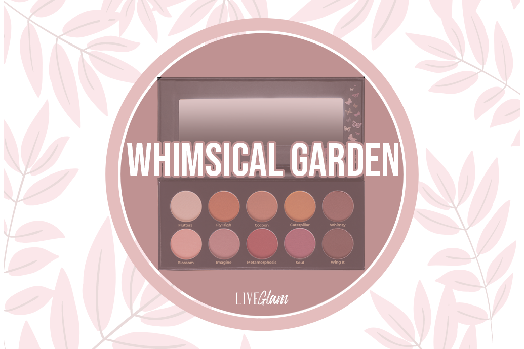 LiveGlam Whimsical Garden Eyeshadow Palette Ingredients List