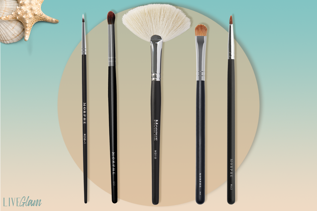 LiveGlam march 2021 makeup brush collection