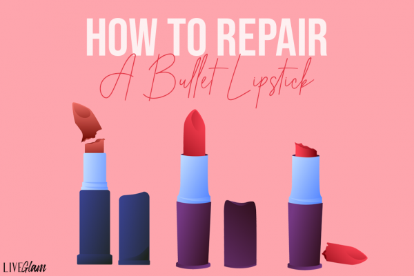 how to repair a bullet lipstick