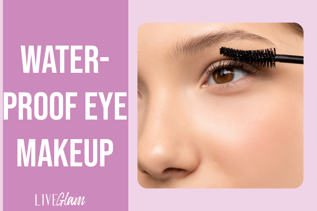 make Eyeshadow Stay on all day with water proof eye makeup