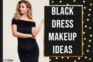 black dress makeup ideas