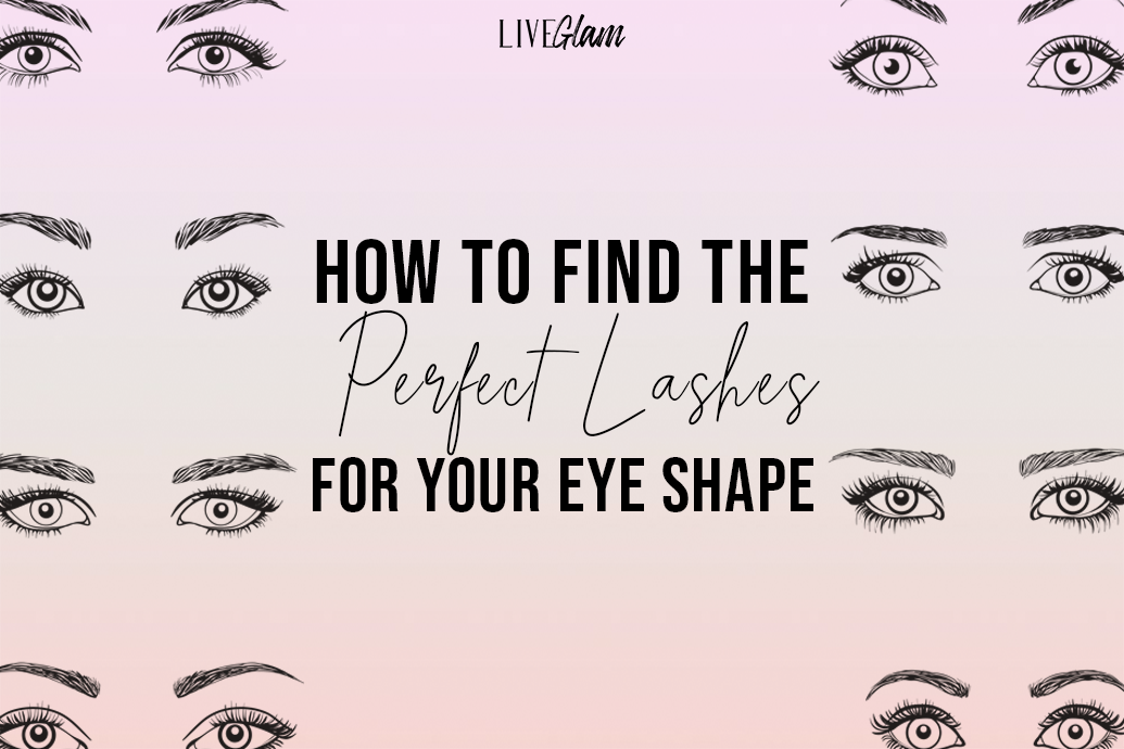 how to find the perfect lashes for your eye shape