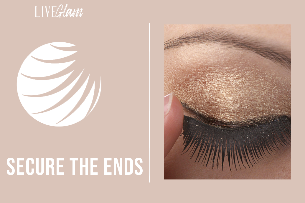 how to get faux lashes to stay on longer