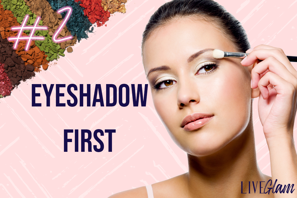 hacks to prevent eyeshadow fallout