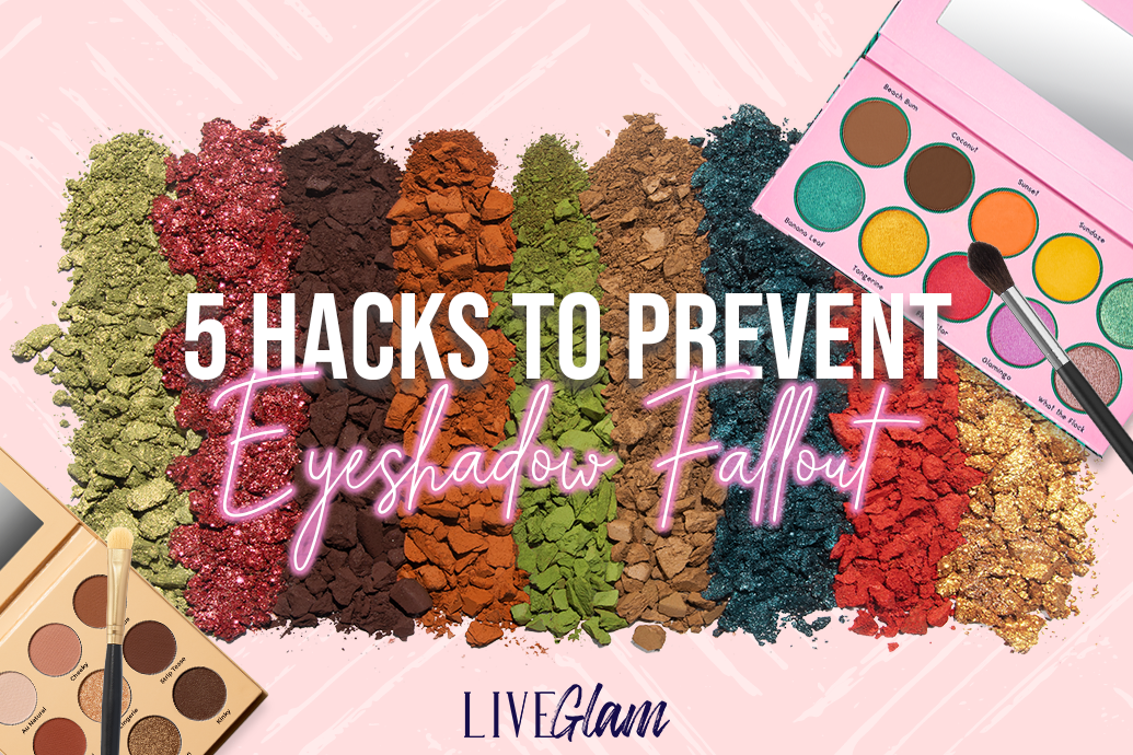 how to prevent eyeshadow fallout