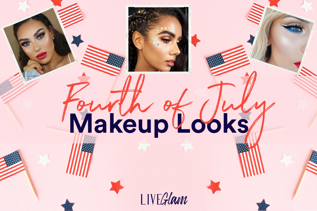 fourth of july makeup looks to try