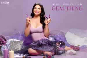 aint nothin but a gem thing LiveGlam lippie collection september 2021