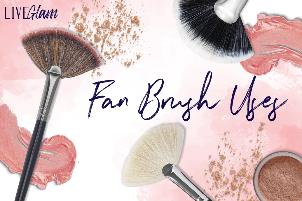 4 Uses For A Fan Makeup Brush