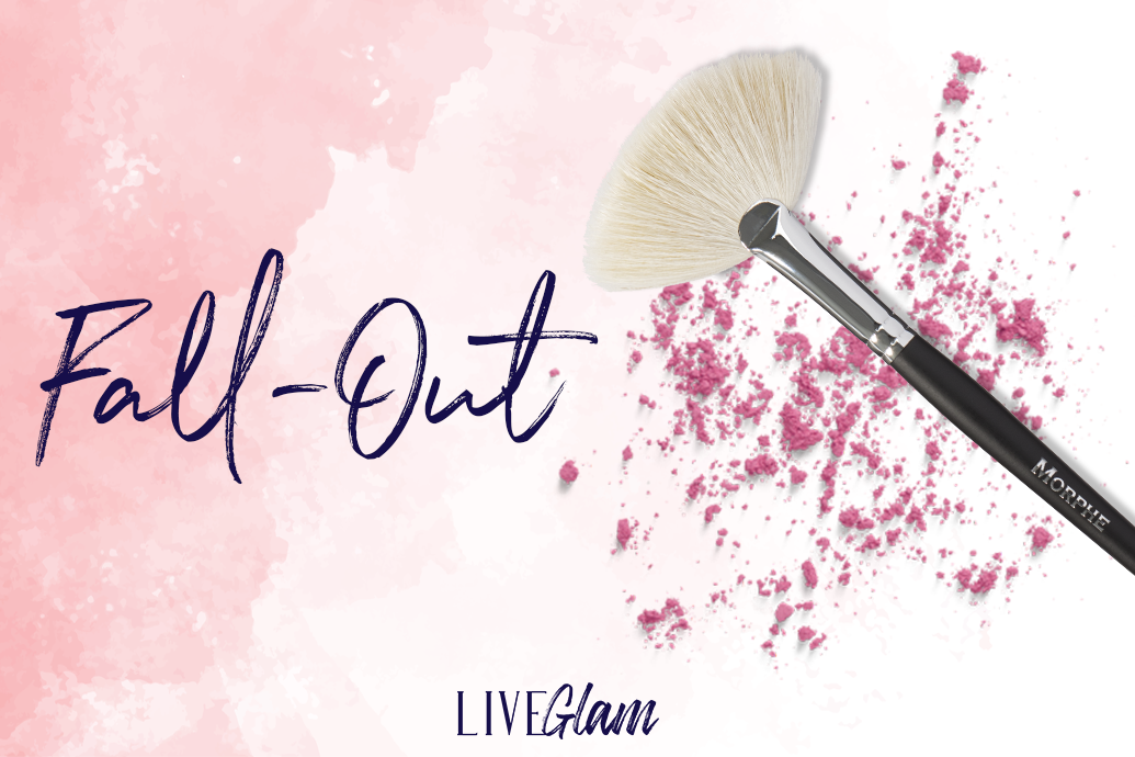 stop fall out with fan brush